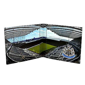 Newcastle United FC Official Stadium Design Leather Wallet