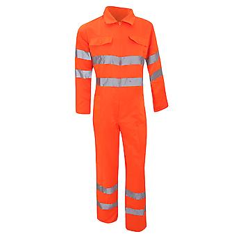 Yoko Hi-Vis Polycotton Coverall / Mens Workwear