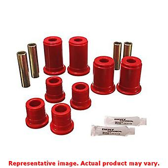 Energy Suspension Control Arm Bushing Set 3.3147R Red Front Fits:CHEVROLET 1992