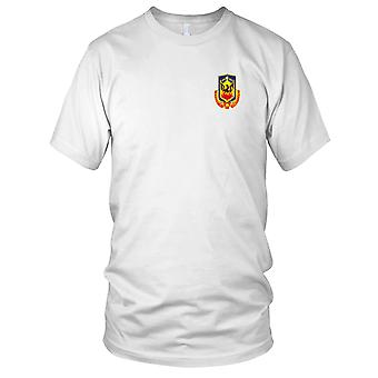 US Army - 173rd Airborne Infantry Brigade Special Troops Battalion Embroidered Patch - STB-30 Mens T Shirt