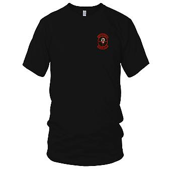 USMC 3rd Marines Sniper Platoon - Military Vietnam War Embroidered Patch - Mens T Shirt
