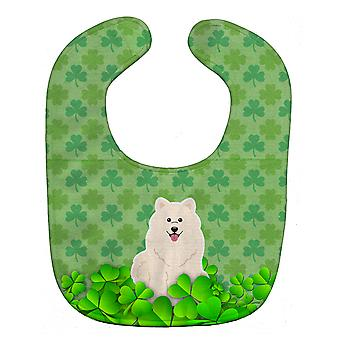 Carolines Treasures  BB6171BIB Samoyed Shamrocks Baby Bib