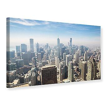 Canvas Print Skyscraper Chicago