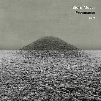 Bjorn Meyer - Provenance [CD] USA import
