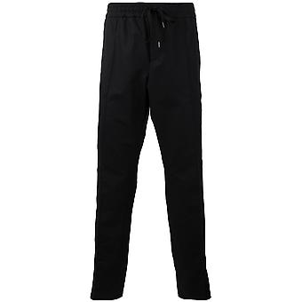 Kenzo men's F755PA2271RB99 black cotton pants