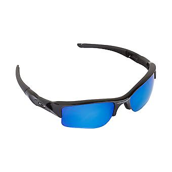 Best SEEK Replacement Lenses for Oakley FLAK JACKET XLJ Clear Blue Mirror