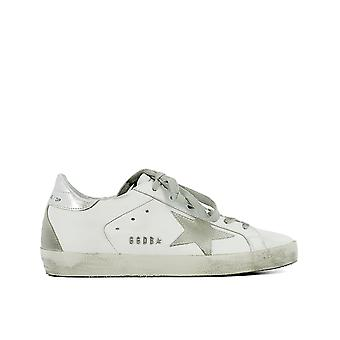 Golden Goose women's GC0WS590W77 White leather of sneakers