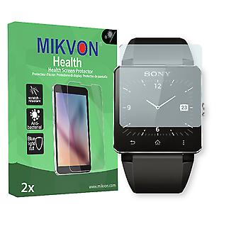Sony SmartWatch 2 Screen Protector - Mikvon Health (Retail Package with accessories)