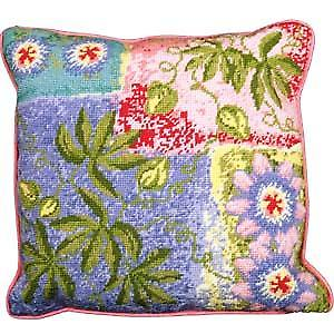 Passion Fruit and Flower Needlepoint Canvas