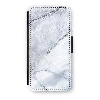 iPhone 6/6s Flip Case - Marble white
