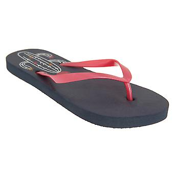 Sand Rocks Womens/Ladies Cactus Flip Flops