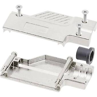 D-SUB housing Number of pins: 9 Metal 90 ° Silver