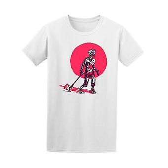 Zombie Axe graafinen t-paita - kuva: Shutterstock