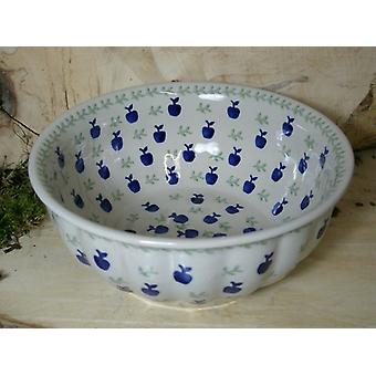 Waves edge Bowl, 2nd choice, Ø 22-24 cm, height 10 cm, tradition 50 BSN 60341