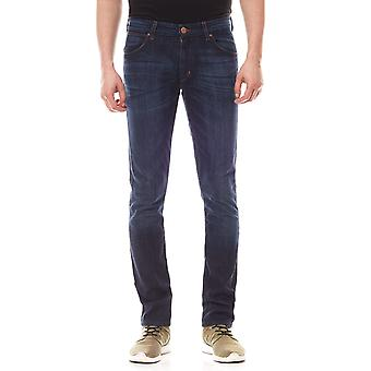 Wrangler jeans stretch effect slim mens Lars tone blue
