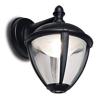 LUTEC unir bas 6.5W lanterne extérieur LED applique murale noir
