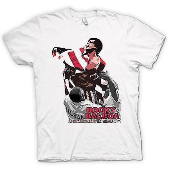 Womens T-shirt - Rocky Balboa - Courage - Boxing Movie