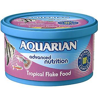 Aquarian Tropical Fish Flake Food Complete Fish Food 50g