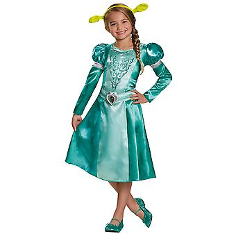 Fiona DreamWorks Shrek Princess Orge Fairytale Story Book Week Girls Costume