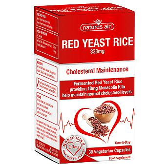 Natures Aid Red Yeast Rice 30 Vcaps
