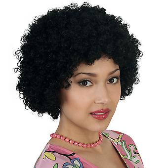 Hair wig Afro curls black