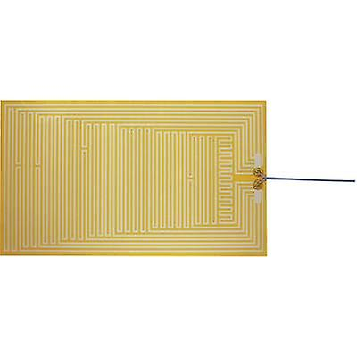 Thermo Polyester Heating foil self-adhesive 12 Vdc, 12 V AC 30 W IP rating IPX4 (L x W) 480 mm x 280 mm