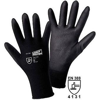 Nylon Protective glove Size (gloves): 10, XL EN 388 CAT II L+D worky MICRO black Nylon-PU 1151 1 pair