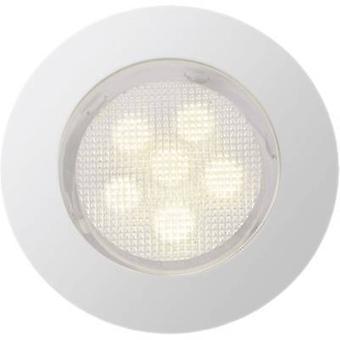 華麗な凹んで Cosa G03094/75 LED ライト 10 個セット 4.2 W 暖かい白ステンレス鋼