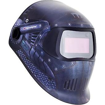 SpeedGlas 100V Trojan Warrior H751620 Welders Hard hat EN 379, EN 166, EN 175, EN 169