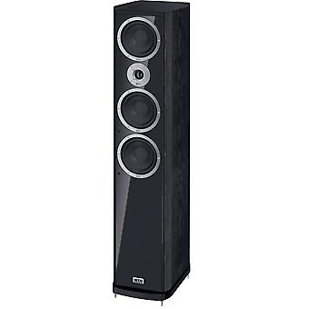 B goods Heco music style 900, Floorstanding speaker, 3 way bass reflex with one-two, color: black, 2 pieces