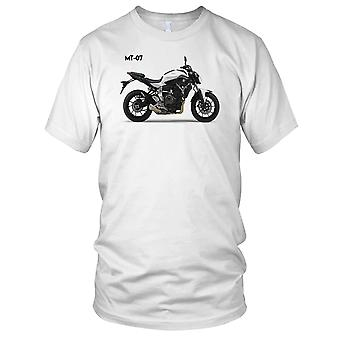 Yamaha MT 07 Motorcycle Motorbike Biker Ladies T Shirt