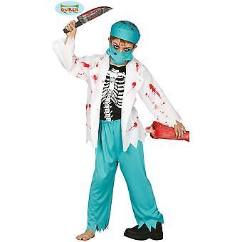 Kinder Kostüme Zombie Doktor Kostüm für Kinder