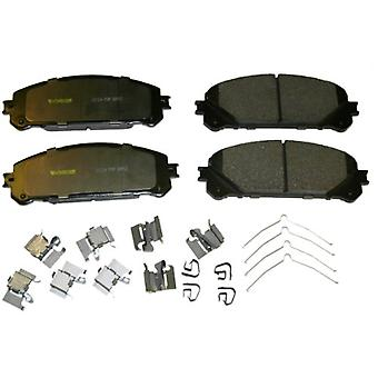 Monroe CX1324 Total Solution Ceramic Brake Pad