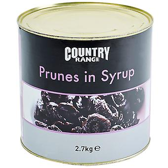 Country Range Prunes In Syrup