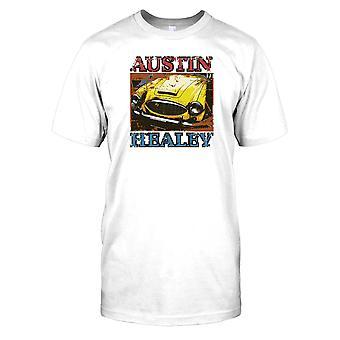 Austin Healey - Yellow Mens T Shirt
