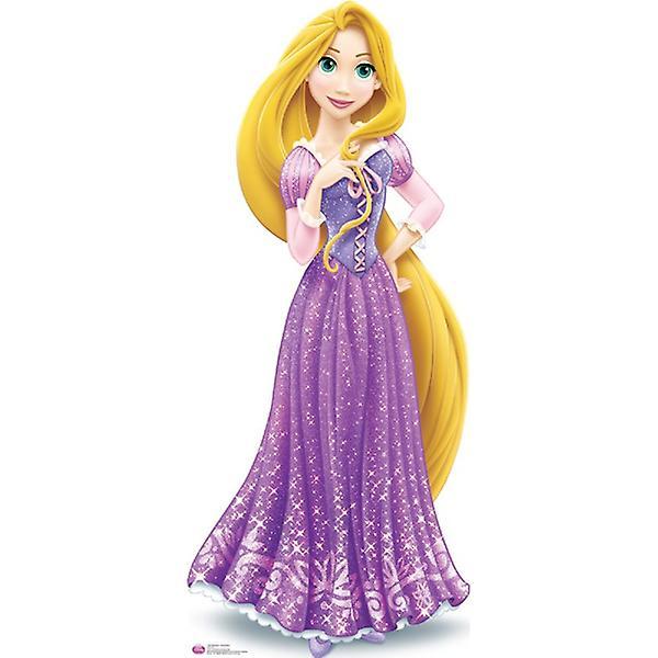 Rapunzel Disney Princess Cartón recorte / espectador de pie