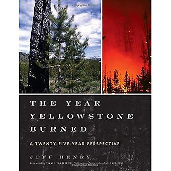 The Year Yellowstone Burned: A Twenty-Five Year Perspective