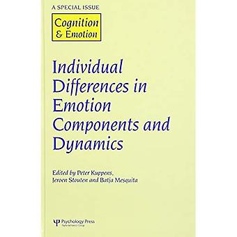Les différences individuelles dans les composants de l'émotion et la dynamique: un numéro spécial de Cognition & émotion