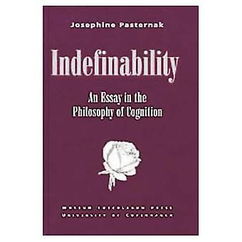 Indéterminabilité An Essay in the Philosophy of Cognition