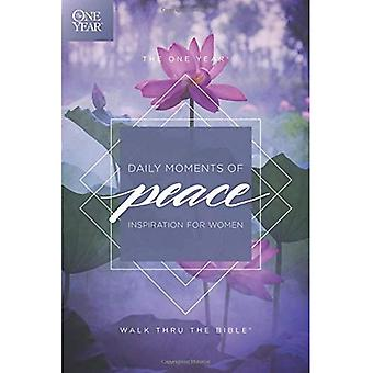 The One Year Daily Moments� of Peace: Inspiration for Women