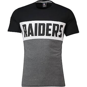 NFL cut & sew tee - Oakland Raiders Black