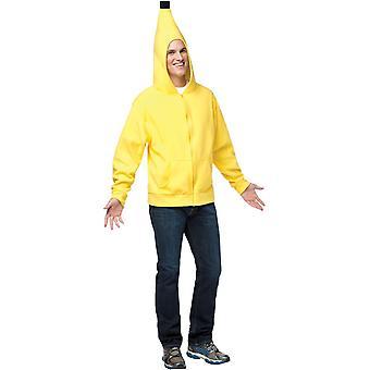 Hoodie Banana Adult