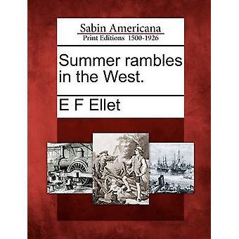 Sommer Ramblas i Vesten. af Ellet & E F