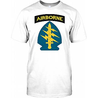 US Army Special Forces - groene baretten Kids T Shirt