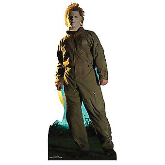 Clássico de Michael Myers Halloween Pose Lifesize papelão recorte / cartaz / stand-up