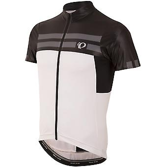 Pearl Izumi Black-White Pro Escape Short Sleeved Cycling Jersey