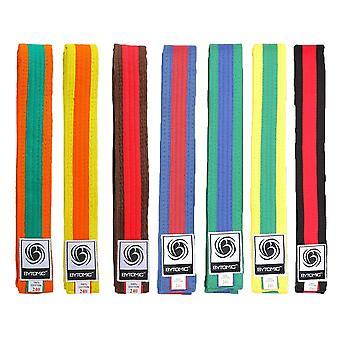 Bytomic gekleurde streep Martial Arts Belt