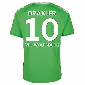 2015-16 Wolfsburg Away Shirt (Draxler 10)