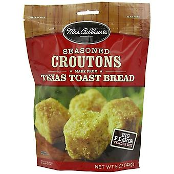 Mrs. Cubbison's Seasoned Croutons Made From Texas Toast
