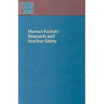 Human Factors Research and Nuclear Safety